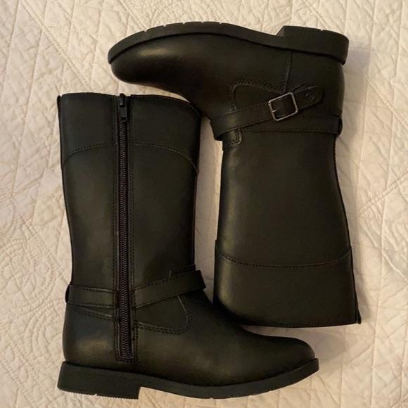 {NWOT} Stride Rite Juliette Black Tall Boot
